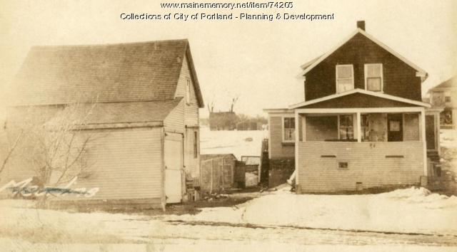Dwelling, Rowe Avenue, Portland, 1924