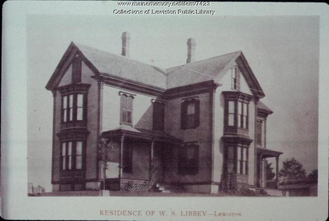 W. S. Libbey home, Sabattus Street, Lewiston