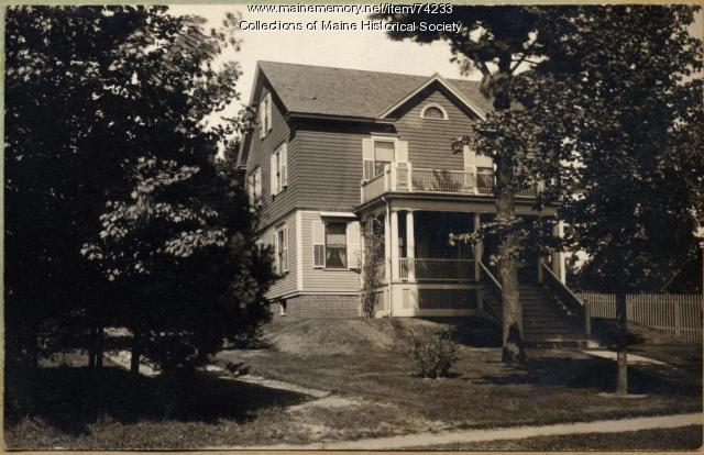H. W. Shaylor Jr. home, Falmouth, 1915