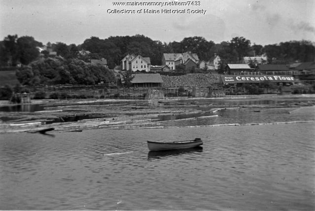 Kennebec River, July 1910