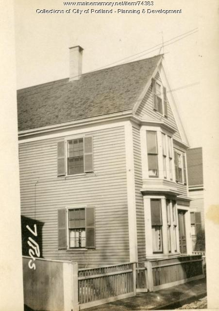 13 Russell Street, Portland, 1924