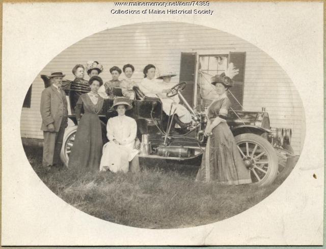Shaylor family, Portland, 1910