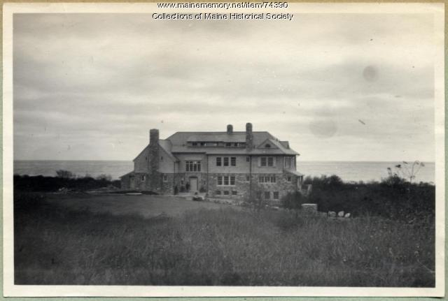 Harmon summer home, Massachusetts, ca. 1900