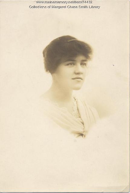 Margaret Chase Graduates From Skowhegan High School In 1916