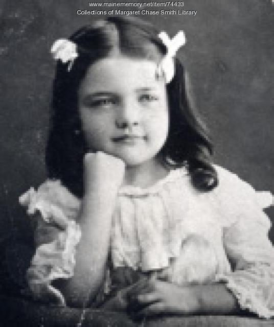 Elementary School Photo of Margaret Chase, Skowhegan, 1903