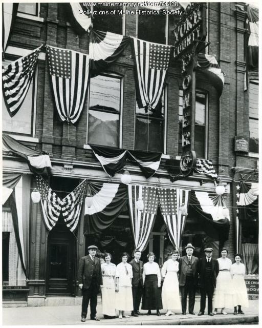 York County Power Co. employees, Biddeford, 1914