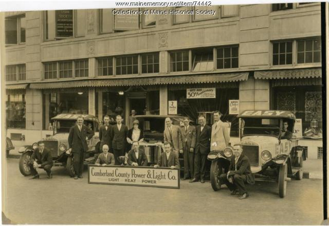 Cumberland County Power and Light employees, 1927
