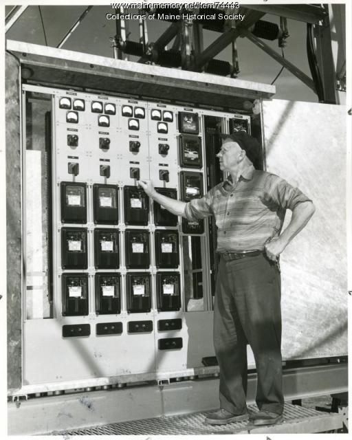 Eugene Baker, Augusta, 1957