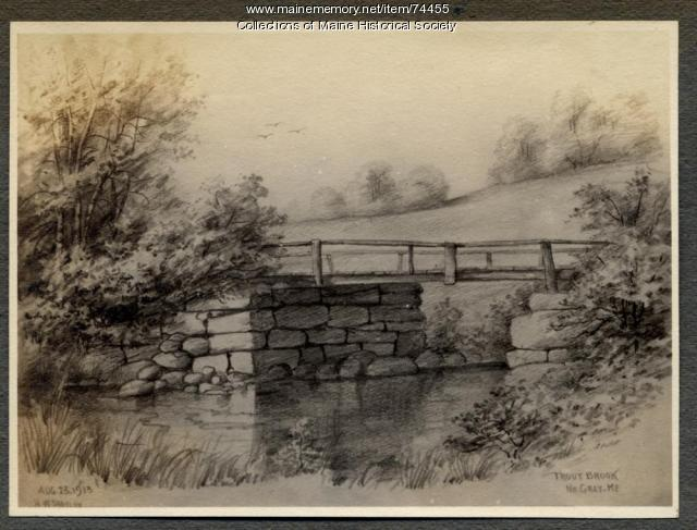 Trout Brook, Gray, 1913