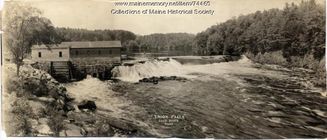 Union Falls, Saco River, ca. 1910