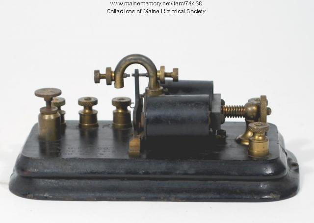 Telegraph relay, ca. 1900