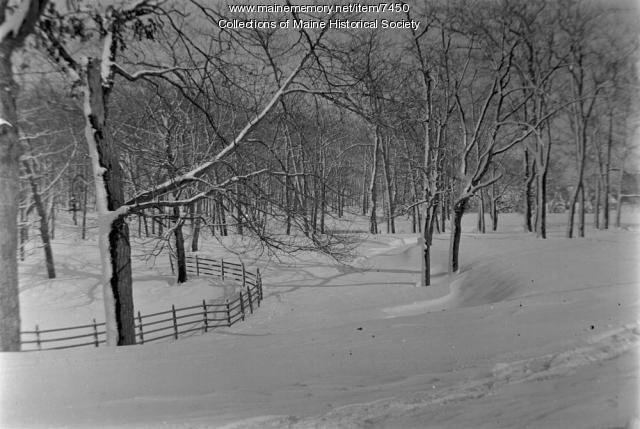 Deering Oaks Park, Portland, 1909-1910