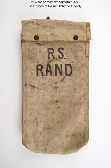 Electrical worker pouch, ca. 1930