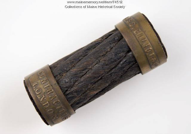 Transatlantic cable fragment, ca. 1865