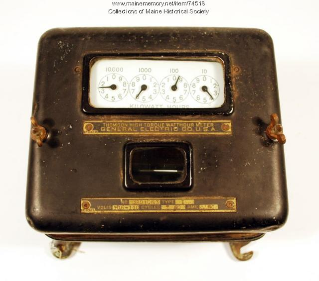 General Electric Type I electric meter, 1913