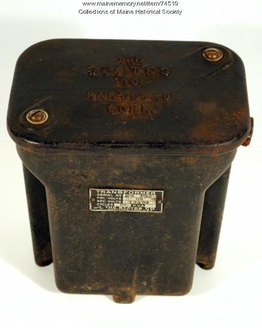 Sangamo Type H electric meter, 1911