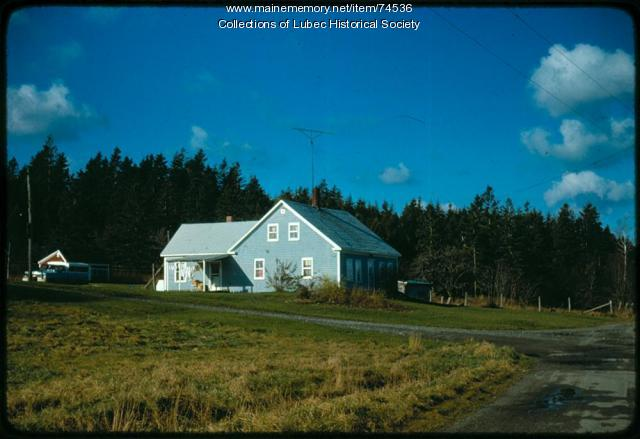 North Lubec House, Lubec, 1975