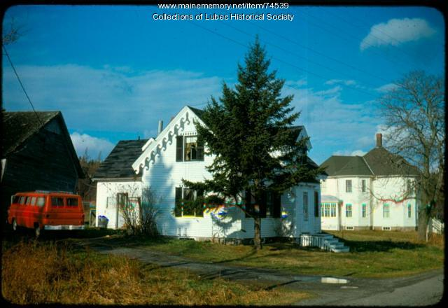 North Lubec Houses, Lubec, 1975