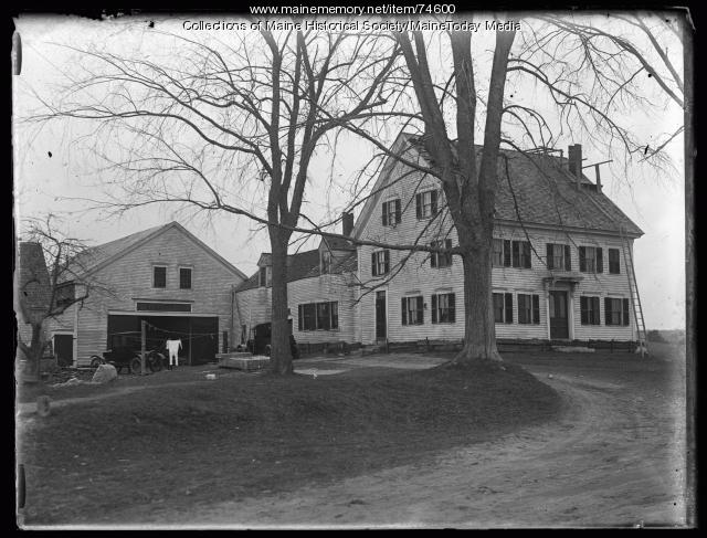Cote House, Gorham, 1924