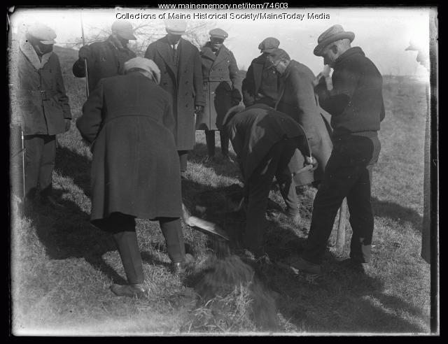 Cote murder case, Gorham, 1924