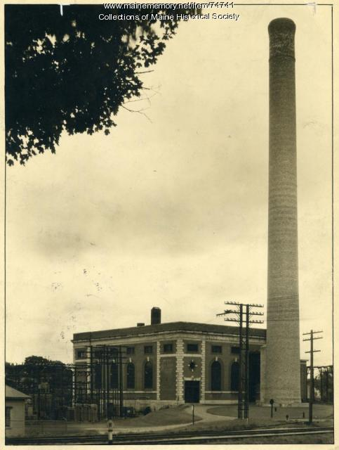 Farmingdale steam station, ca. 1920