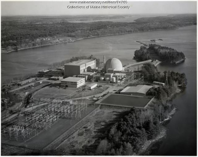 Maine Yankee Atomic Power Station, Wiscasset, ca. 1972