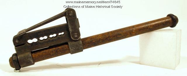 Crimping-splicing tool, ca. 1935