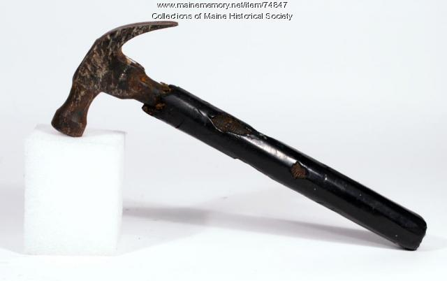 Hammer with insulated handle, ca. 1920