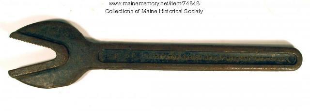 Alligator wrench, ca. 1910