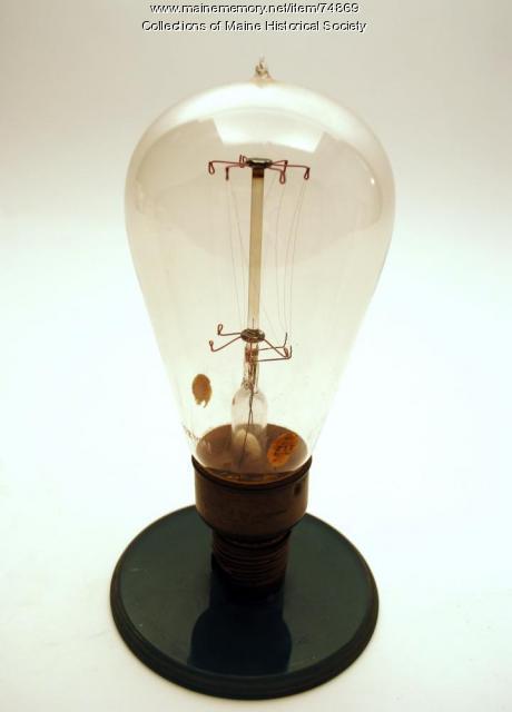 Tantalum filament bulb, ca. 1904