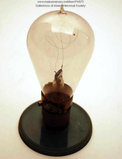 Hy-Lo light bulb, ca. 1904