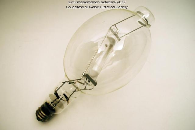 Quartz-arc halogen lamp, ca. 1980