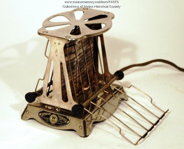 Turn-Over Toaster. ca. 1916