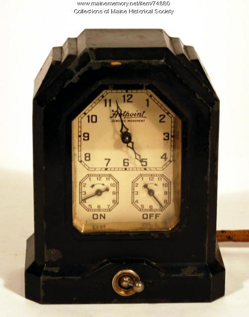 Hotpoint automatic Range Timer, ca. 1930