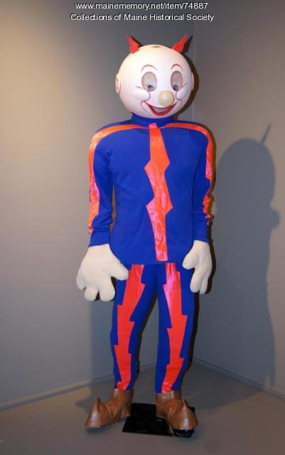 Reddy Kilowatt costume, ca. 1967