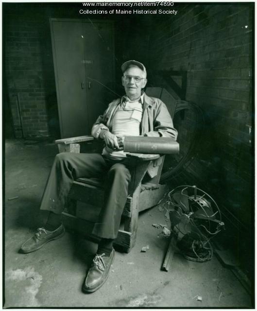 Leonard Leavitt, Lewiston, 1984