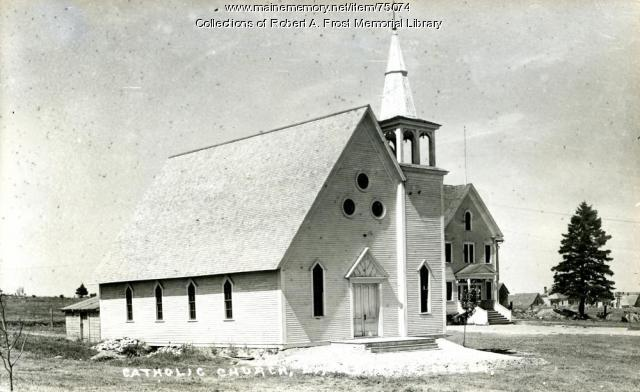 Catholic Church, Limestone, ca. 1902