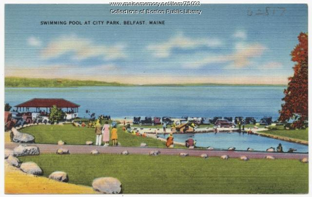 City Park, Belfast, ca. 1938