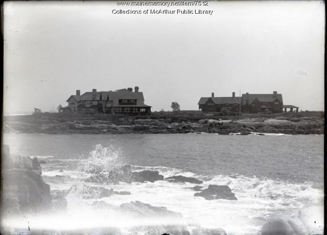 Walker's Point, Kennebunkport, ca. 1916.