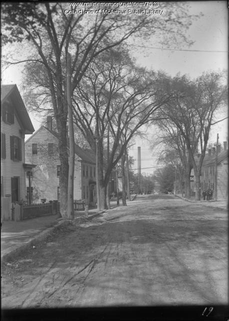 Hill Street, Biddeford, 1916