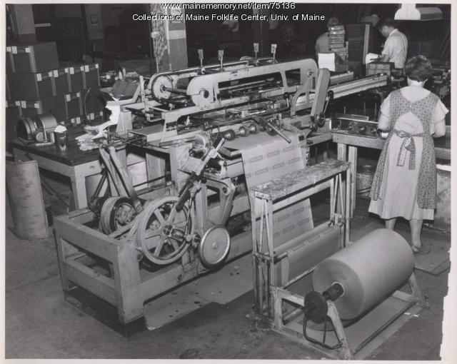 Women in the Finishing Department, Brewer, ca. 1942