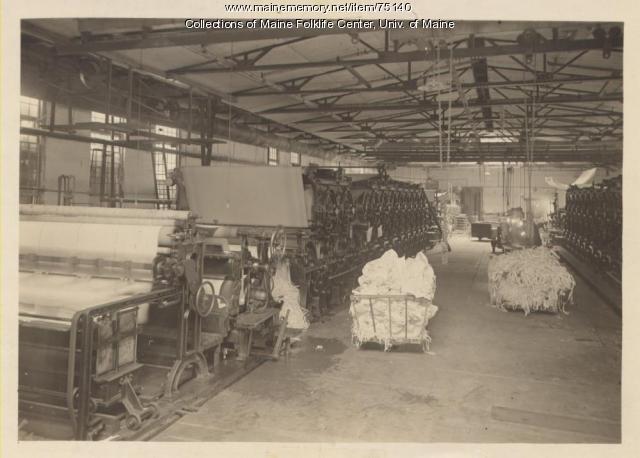 Paper machines and scrap paper, Brewer, ca. 1920