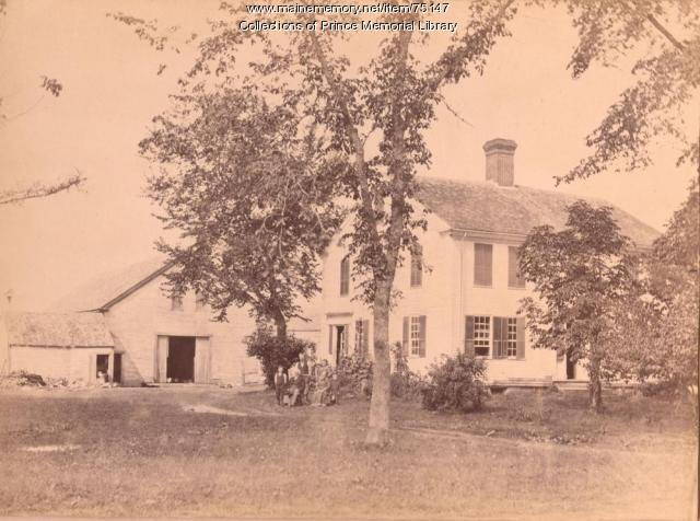Blanchard home, Cumberland, ca. 1880