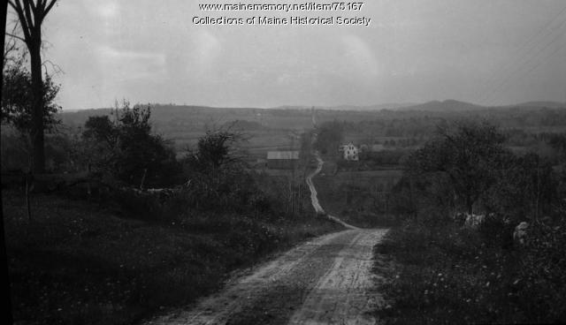 Winding road, ca. 1920
