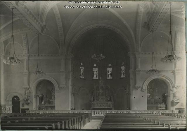 St. Andre's Church, Biddeford, circa 1910