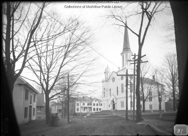 Second Parish Church, Biddeford, ca. 1910