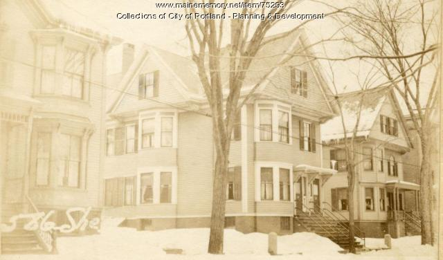 60-62 Sherman Street, Portland, 1924