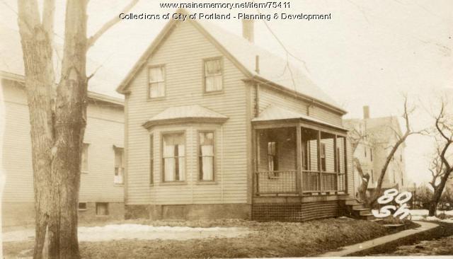 80 Sherwood Street, Portland, 1924