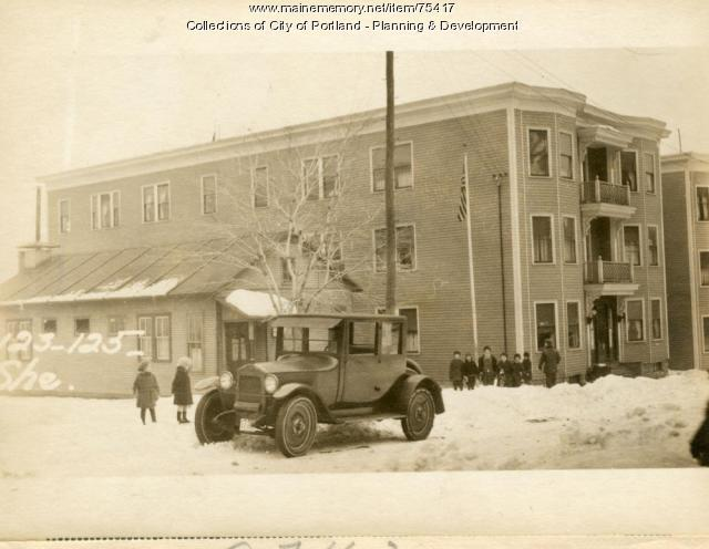 123-125 Sherman Street, Portland, 1924