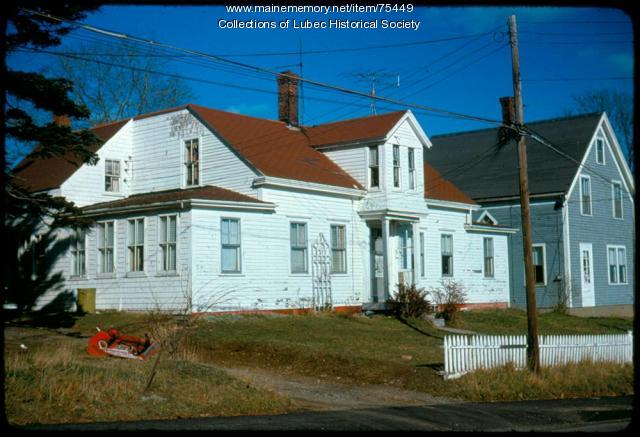 House at 37 Washington Street, Lubec, 1975